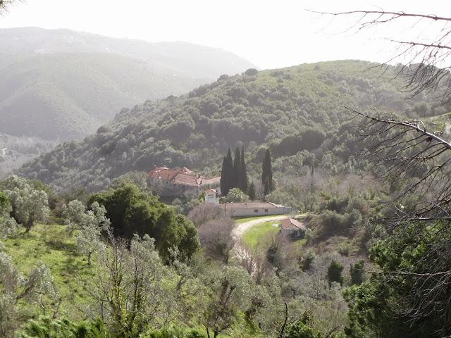 Αποτέλεσμα εικόνας για .Στο Μοναστήρι του Αγίου Σπυρίδωνα στο Προμύρι Πηλίου