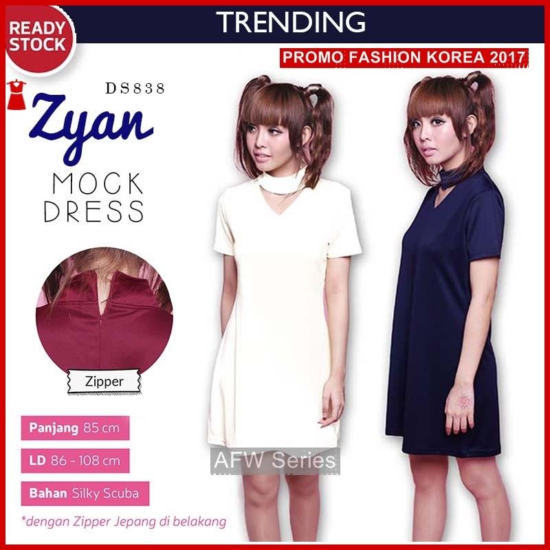 BAMFGW048 Zyan Dress Pakaian Wanita PROMO BMG