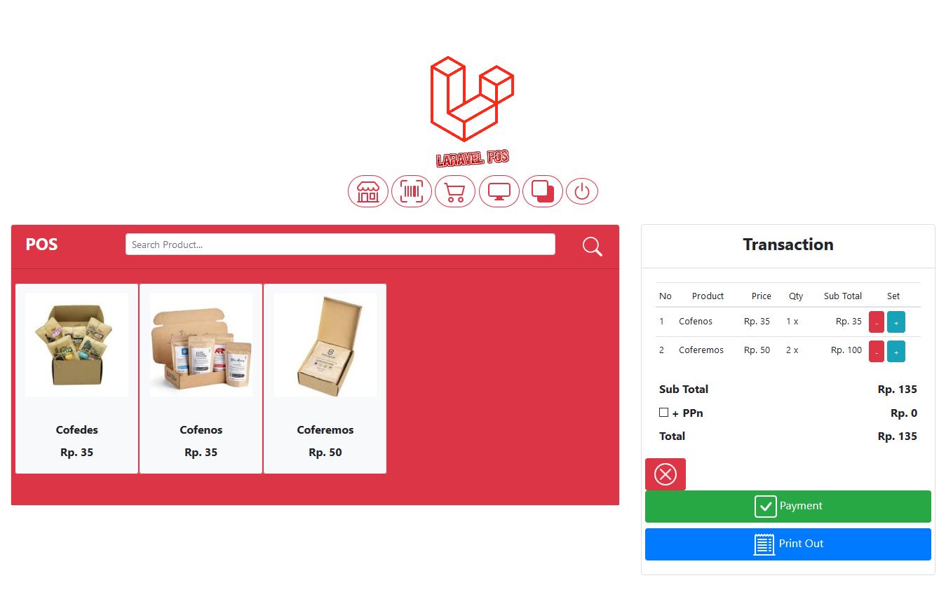 aplikasi kasir toko pejualan