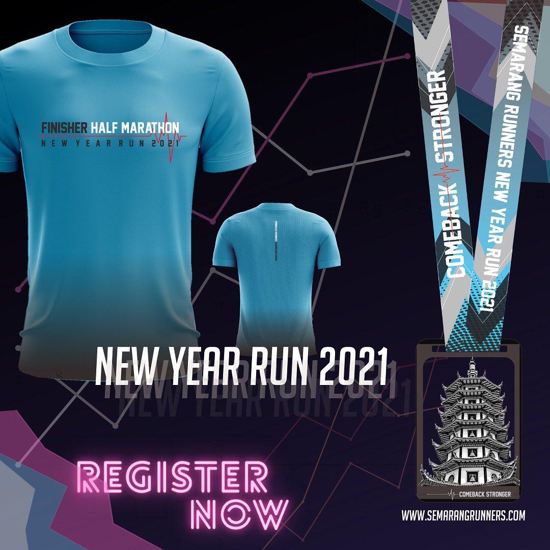 New Year Run - Semarang Runners • 2021