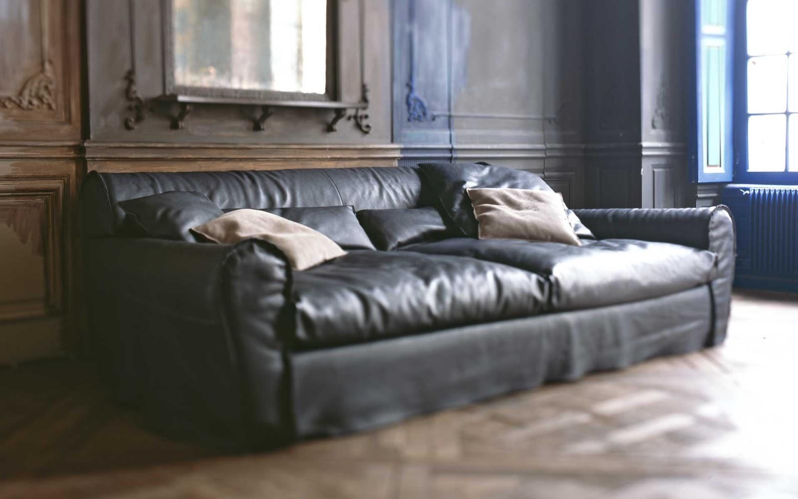 Hom architetti la nostra selezione di divani in pelle for Baxter paola navone
