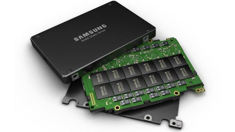 SSD memory chip