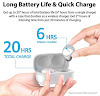 iLuv TB100 White True Wireless Earbuds Cordless in-Ear Bluetooth 5.0 with Hands-Free Call Microphone, IPX6 Waterproof Protection, High-Fidelity Sound; Includes Compact Charging Case & 3 Ear Tips Review