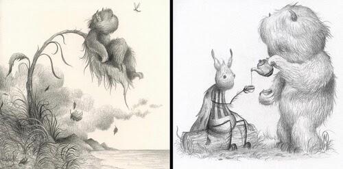 00-Creature-Drawings-Dan-May-www-designstack-co