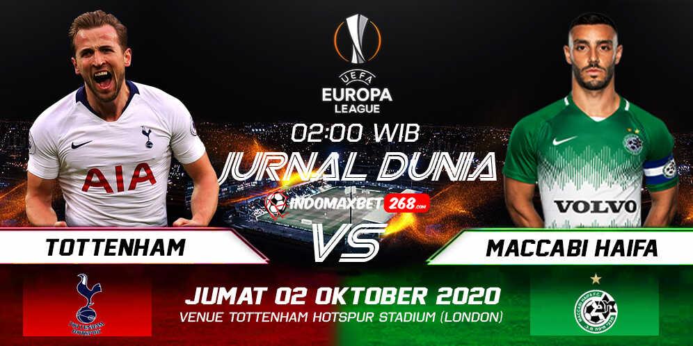 Prediksi Tottenham Hotspur Vs Maccabi Haifa 02 Oktober 2020 Pukul 02.00 WIB