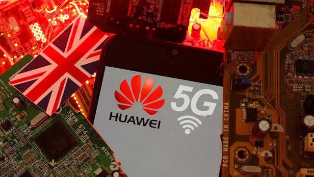Reportan que el Reino Unido cambia de rumbo y eliminará gradualmente la red 5G de Huawei