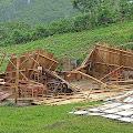 Angin Kencang Rusak Puluhan Rumah dan Fasilitas Publik di Manggarai