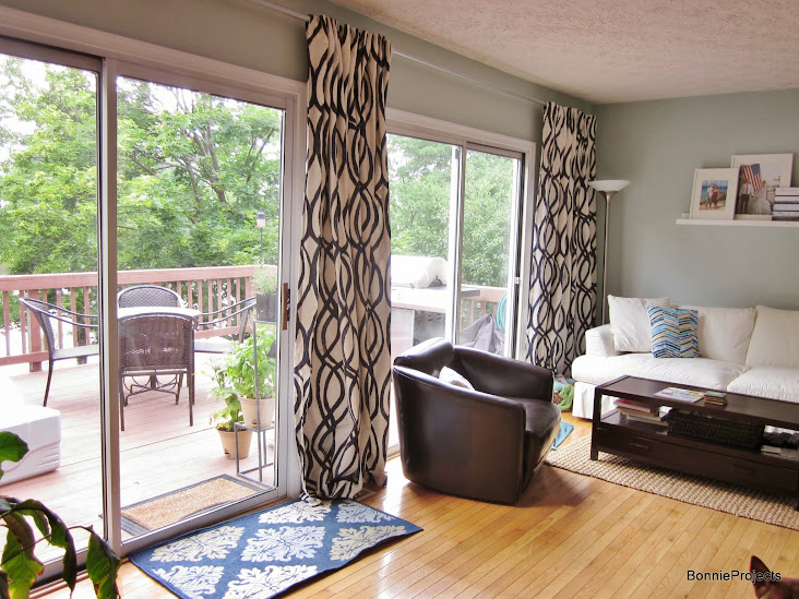 BonnieProjects: Living Room Update: Curtains