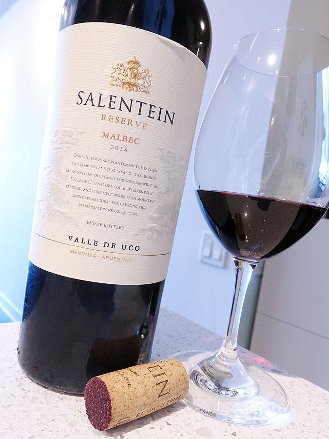 Salentein Reserve Malbec 2018 (89 pts)
