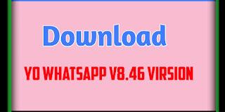 YO WhatsApp v8.46 Virsion