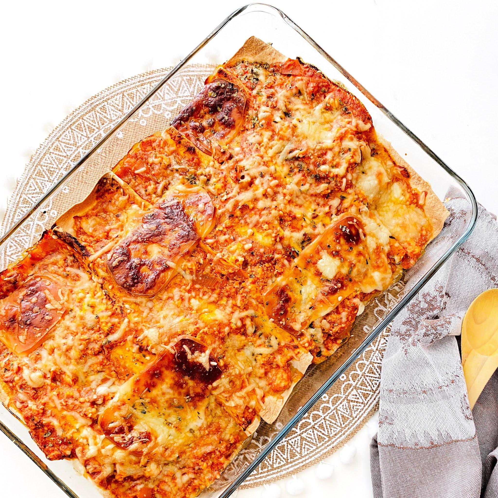 Tortilhas recheadas no forno