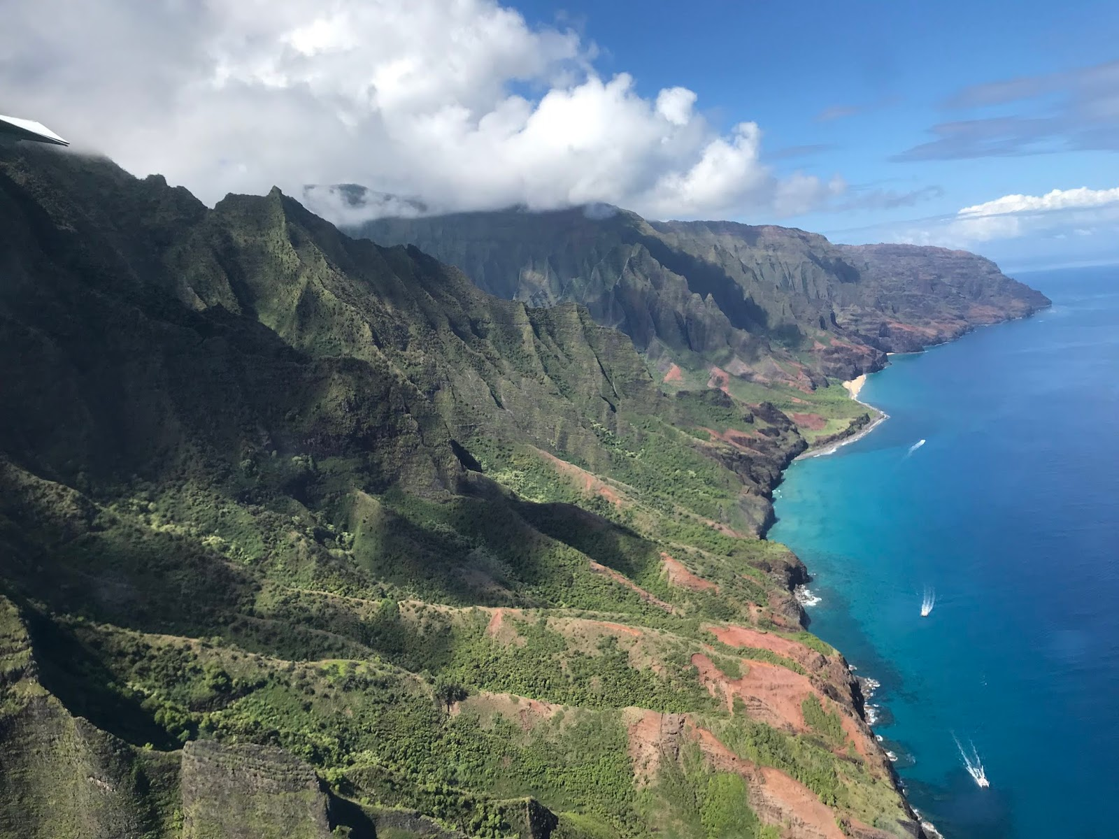 Wings Over Kauai Airplane Tour | Views from Wings Over Kauai Airplane Tour | What to Do in Kauai | A Memory of Us Blog |