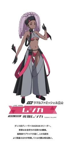 Michelle Tateyama como Mujika Yadoki (Mujika)