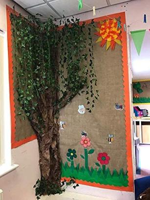DIY Tree for classroom bulletin board