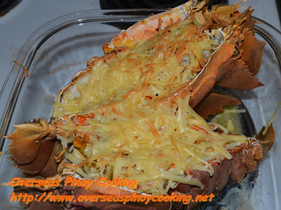 Baked Slipper Lobster