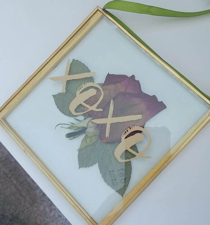 Dried Flower Keepsake DIY