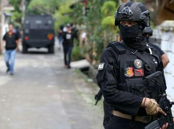 Dua Terduga Teroris Ditembak Mati Tim Densus 88 di Kota Datar Hamparan Perak