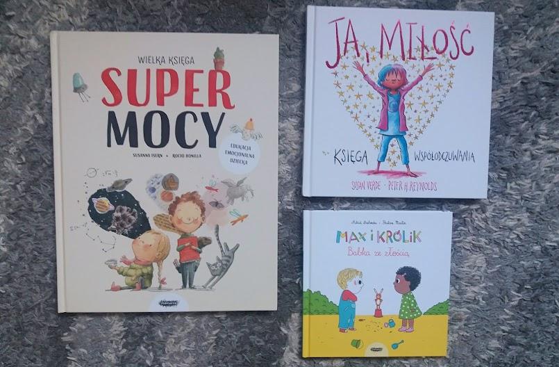 Książki o emocjach dla małych czytelników (wydawnictwo Mamania)