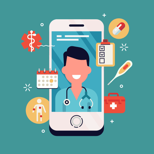 telehealth website services help doctors connect with patients at home