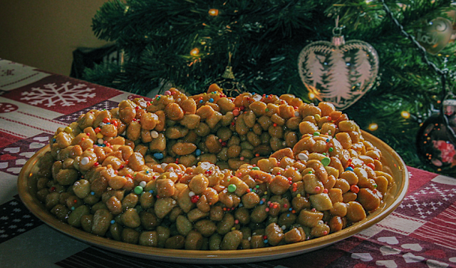 Piatto tipico campano delle feste natalizie