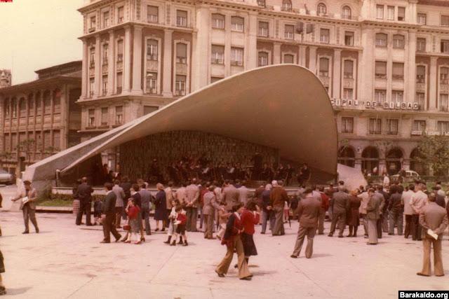 Quiosco de música de Herriko Plaza