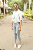 Rakul Preet Singh in Jeans and White Shirt At Jaya Janaki Nayaka le Logo Launch ~  Exclusive 053.JPG