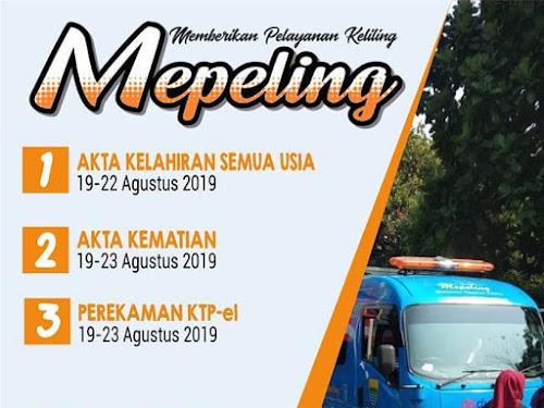 Jadwal Mepeling Bulan Agustus 2019