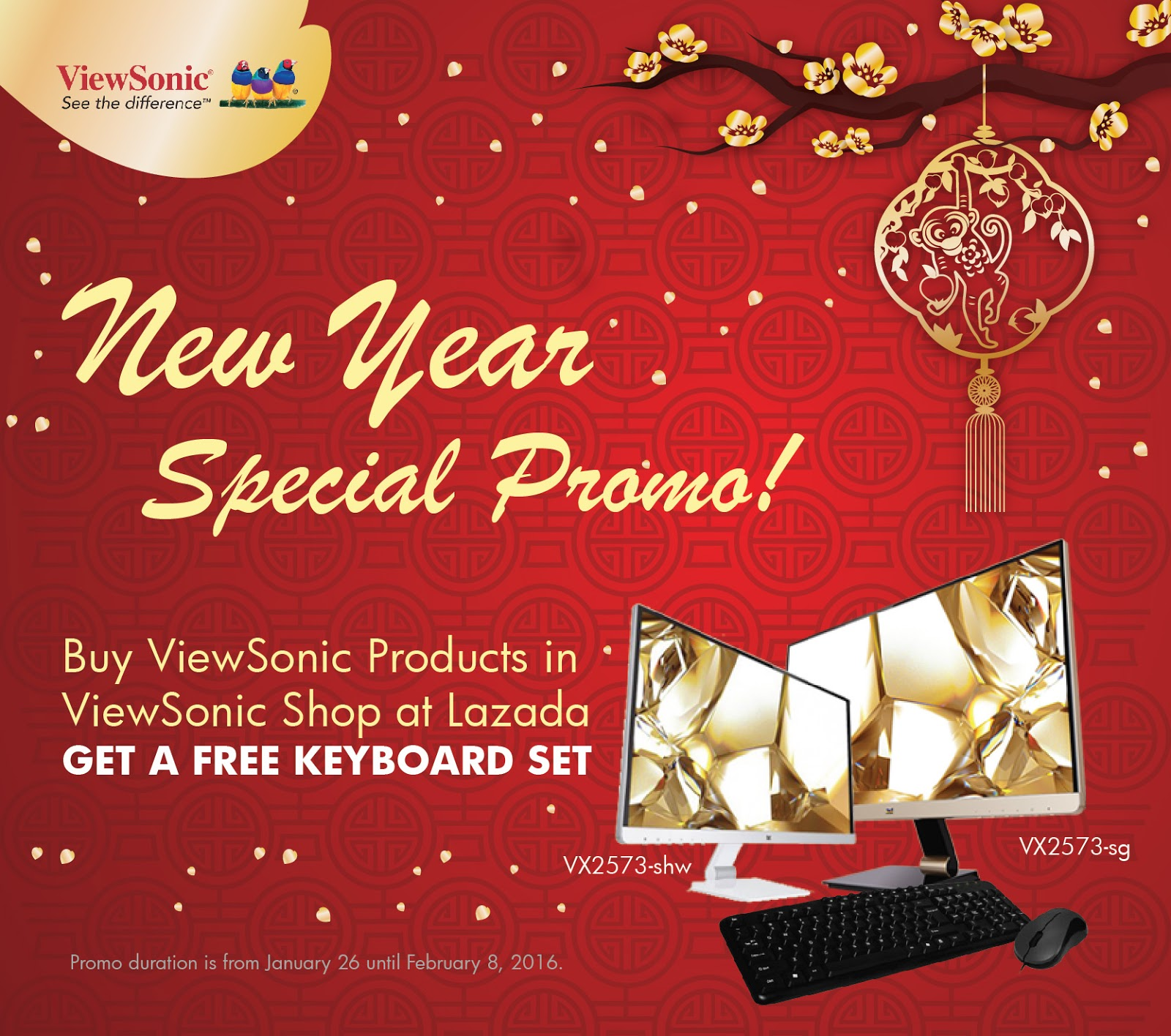 ViewSonic's Limited-time Chinese New Year Promotion