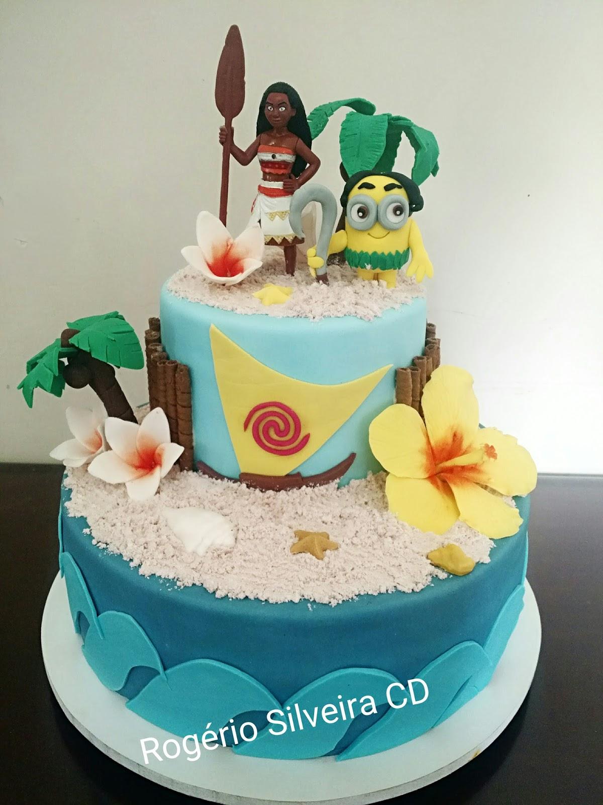 Big Y Moana Cake