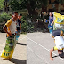 Student shows incredible moves on classic game sack race won first place