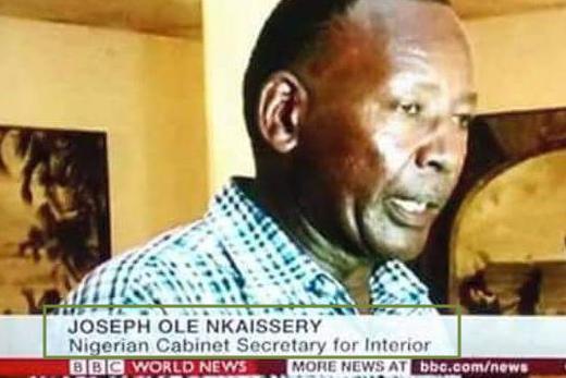 bbc calls kenyan a Nigerian