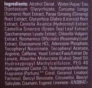 Aveda Invati Scalp Revitalizer ingredients