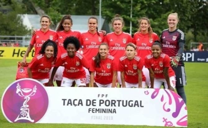 Benfica Vencedor da Taça de Portugal de Futebol Feminino 2018/19