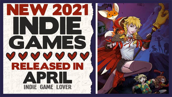 New Indie Games ❤ April 2021 | Part 4