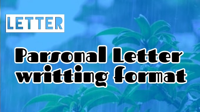 Personal Letter Format, How to Write Personal a Letters Step by Step With Picture