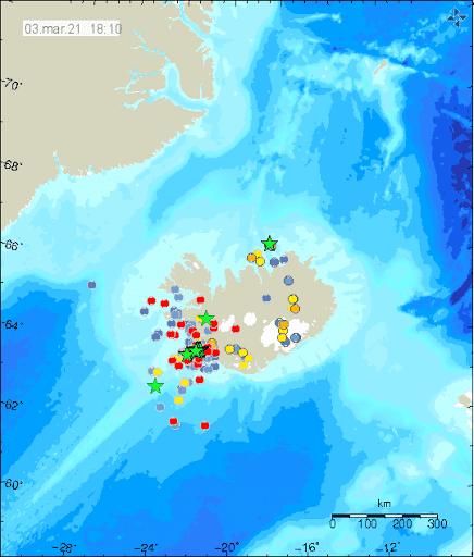Terremoti Islanda