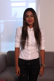 Nia Sharma at an itnerview for For Web Series Twisted 08.JPG