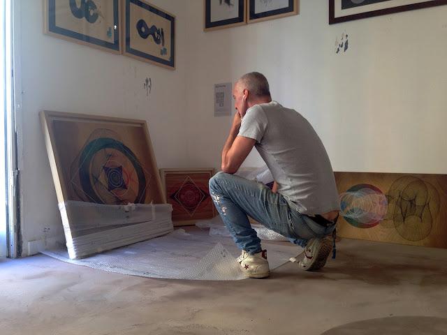 "Moneyless ""Alea Iacta Est"" Rome Solo Show Preview At 999 Contemporary Gallery. 5"