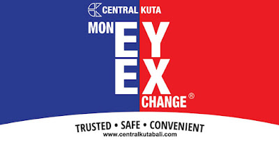 money changer in bali