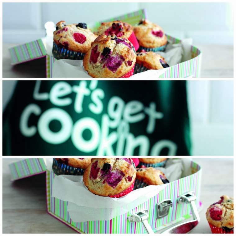 Double Berry Muffins And How To Make Some