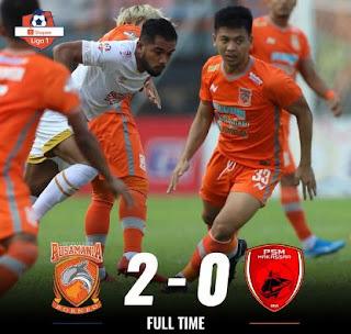 Borneo FC Kalahkan PSM Makassar 2-0 (Highlights)