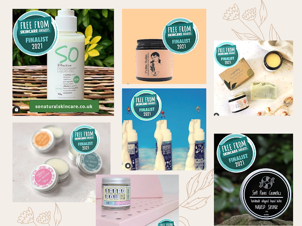 The 2021 Free From Skincare Awards Finalists are Announced