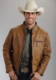 Gambar Jaket Kulit Cowboy JKK02
