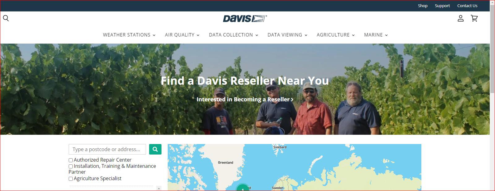 Philippine Distributor of Davis Instruments products