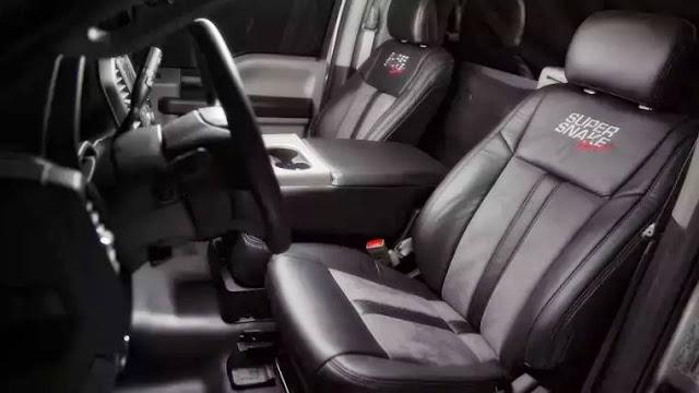 2020 Shelby F-150 Super Snake Sport Interior