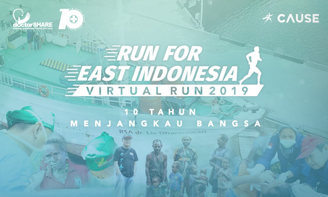 Run For East Indonesia • 2019
