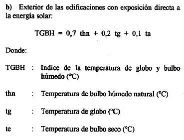 Estrés térmico. 6
