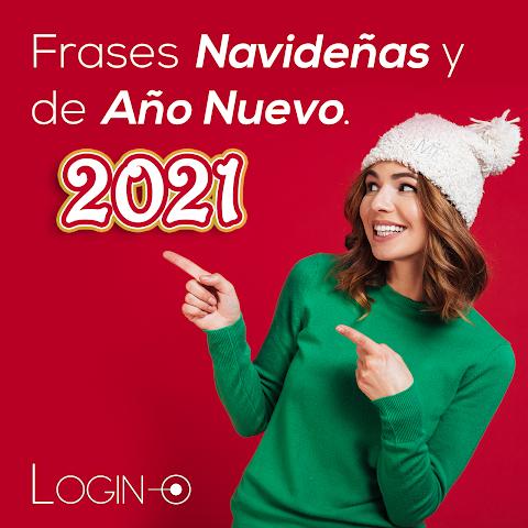 10 Frases Navideñas y de Año Nuevo 2021