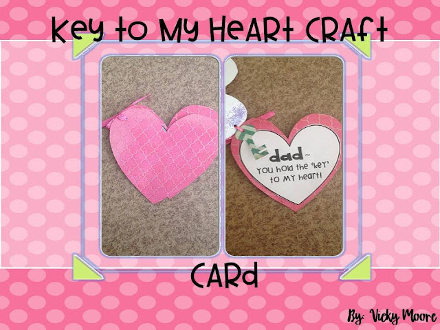 valentine craft or card for parents.