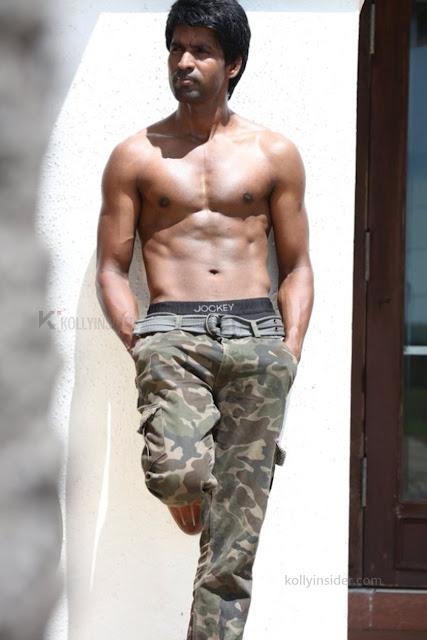 Soori goes shirtless to showoff his Soori six pack shirtless to showoff his physique and the pic goes viral and goes vial